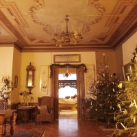 3 historiske juletrær - Villa Bergfall julen 2015