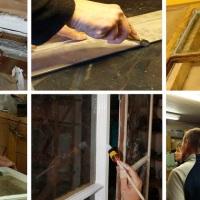 2 dagskurs i vindusrestaurering i Villa Bergfall
